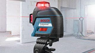 ボッシュ レーザー墨出し器 評価